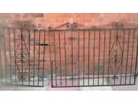 Garden gates x 2