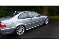 BMW 320 CDI FULL MSPORT. 2004 FULL YEAR MOT