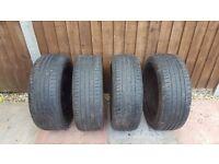 4 x Citroen birlingo/ Peugeot partner wheel and tyres.