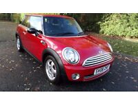 MINI ONE 1.4 08 REG IN RED WITH FULL SERVICE HISTORY,JUST HAD NEW CHAIN AND SERVICE ,1 YEAR MOT
