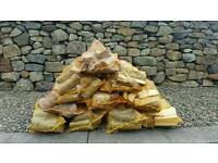 Firewood seasoned logs
