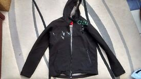 Boys O'Neill Shell Outer fleece inner hoodie 176 cms about age 12