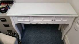 Side table or desk white