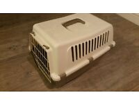Rabbit or other small pet carry case