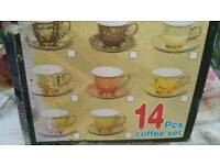 14 pieces tea set