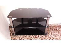 Glass TV stand - DELIVERY AVAILABLE