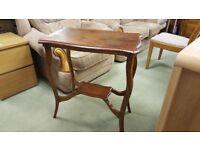 Oak 2 Tier Side Table