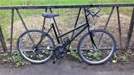 "Ladies Mountain Bike Bicycle. Fully Serviced, Ready To Ride & Guaranteed. 18"" Frame. 18 Speed"