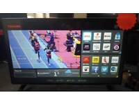 "Toshiba 43"" smart 4K UHD WIFI LED tv"