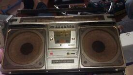 SHARP antique radio