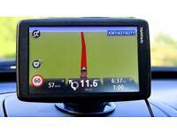 """TomTom Start 60 sat nav UK/ireland lifetime free maps £48 Massive 6""""widescreen"""