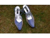 Lovely elegant shoe Jacque Vert Blue