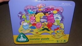 Monsters puzzle