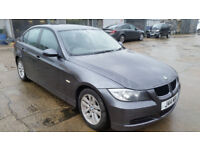 2006 BMW 320D SE E90 SALOON - ULTRA LOW MILEAGE, NO MOT, SPARES OR REPAIR CAT C (START AND DRIVE)