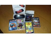 Psp street with box (great condition) with 5 games