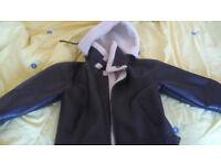 Hudson Brown Hooded Leather Jacket