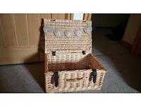 Wedding card basket and bunting