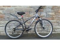 FULLY SERVICED JUMP X-RATED WITH FRONT DISC BRAKES ( SMALL FRAME SIZE )BICYCLE