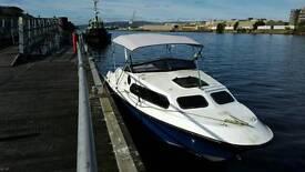 Shetland 570 100hp cabin cruiser mercury 4blade trophy plus I I prop