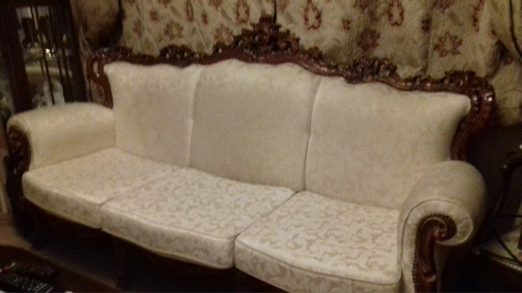 Miraculous French Louis Ornate Sofa Reduced Need Gone In Ferryhill County Durham Gumtree Gmtry Best Dining Table And Chair Ideas Images Gmtryco