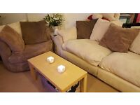 **PRICE DROP** Immaculate 3 Seater sofa and Double Swivel Chair!