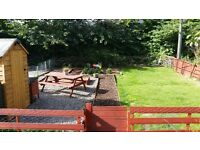 Spacious 1 bed flat in AB10 with private garden.