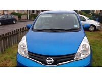 Low milage Nissan Note
