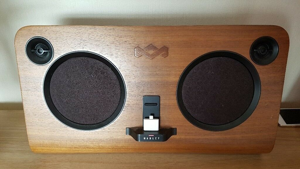 House Of Marley Get Up Stand Up Ipod Dock Speaker