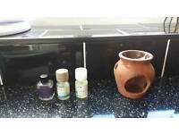 Oil burner + oils