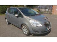 2012 Vauxhall Meriva Exclusiv 1.4 Petrol, 30,000 miles, Full History