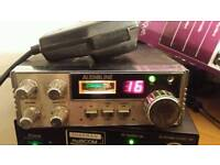 Cb radio big audioline mic and powerlead