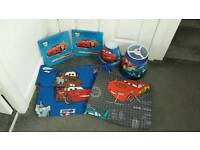 CARS CURTAINS AND BEDROOM ACCESSORIES.