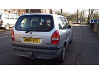 Vauxhall Zafira X reg. Needs work