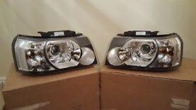 Land Rover freelander front headlights