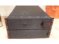 APC SURT8000XLI ups system
