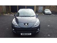 Peugeot 207 2011. 1 year MOT. Diesel 1.6L 3 Keys