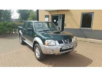 RARE LOW MILEAGE NISSAN NAVARA D22 PICK-UP 57K MILES 2.5L DIESEL 5 SPEED MANUAL