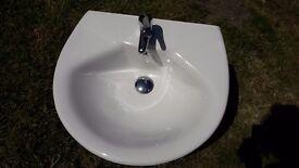 Bathroom wall mounted sink as new