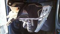 Boys Size 3 Bauer Skates for sale