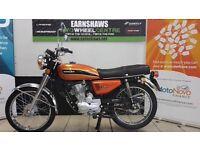 Honley classic motorcycle like Honda cg125