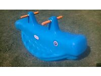 Little Tikes Seesaw Blue Whale
