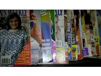 Large collection of womens magazine's ranging from 1988-2003