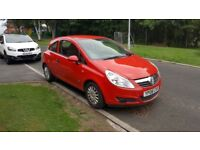 2008 Corsa 1.0L Petrol 11 Mths MOT Cheap to tax Run and Insure