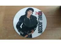 Michael Jackson Bad picture disc.