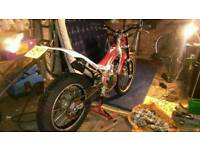 Beta rev 3 rd registered 57 plate gas gas ,sherco .