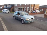 02 REG FORD FIESTA 1.2 PETROL 5DR GREEN TAXED & TESTED TILL 2018 OUTSTANDING FREE-DELIVERY CHEAP CAR