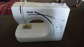 Silver Viscount 1031 Sewing machine with pedal - £46 - Pick Up from Hackney