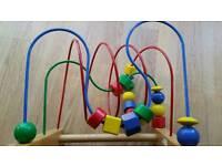 Ikea bead maze/puzzle