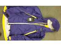 Palm Atlas Jacket - Purple medium