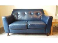 Leather sofa 2 seater (x2)